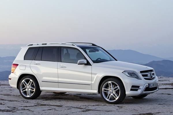 Mercedes-Benz GLK 2013 - официальный релиз