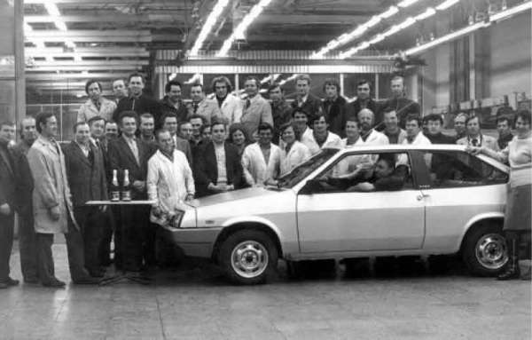 ВАЗ 2108 мог бы иметь клеймо Porsche