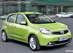 Dacia Citadine бросит вызов сити-карам своей ценой