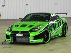 Nissan GTR HULK от Severn Valley Motorsport