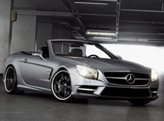 Mercedes-Benz SL500 R231 в тюнинге Wheelsandmore