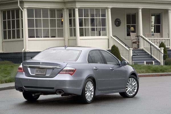 Acura RL получит гибридную систему как в NSX