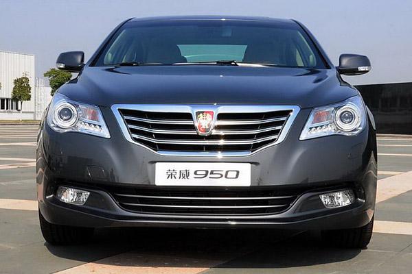 Китайцы представили седан Roewe 950