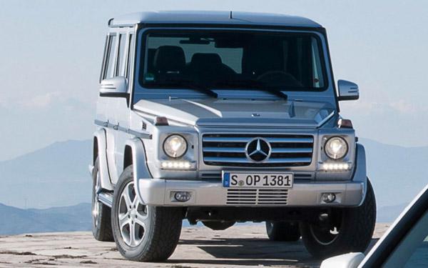 Новые данные о Mercedes G-Class от AMG