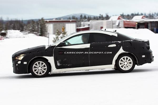 Mercedes подтвердил выпуск малого 4-дверного купе