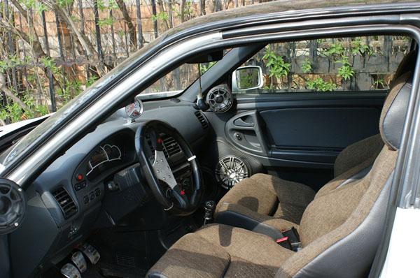 ВАЗ 21123 Coupe Nemesis - эксклюзив по-русски