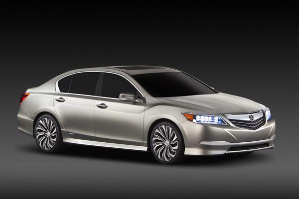 Acura показала спортивный гибрид RLX 2013