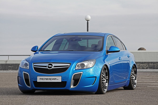 Opel Insignia OPC в тюнинге MR Car Design