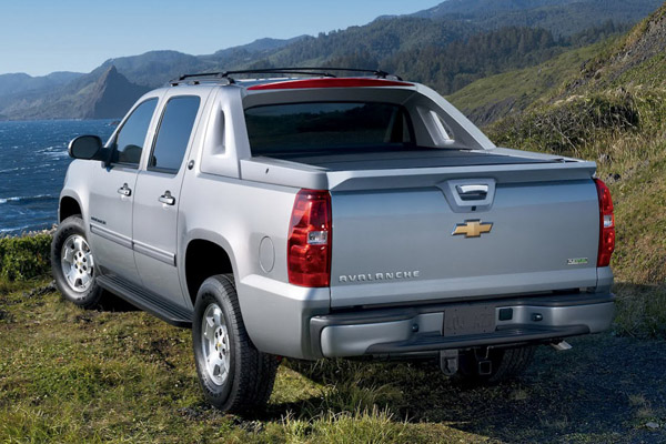 Chevrolet Avalanche Black Diamond Edition