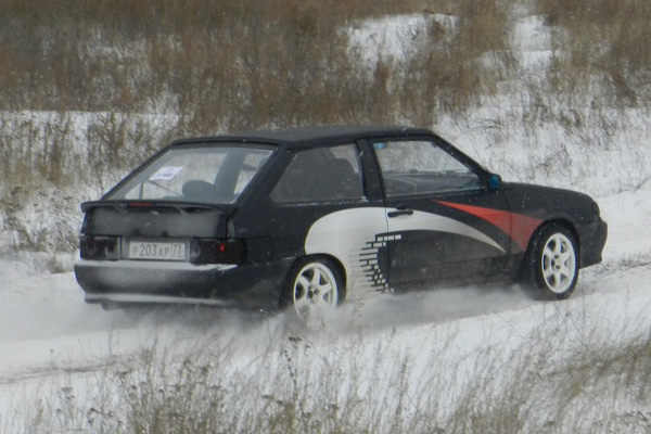 380-сильный ВАЗ 2113 по прозвищу «Turbo Taz»