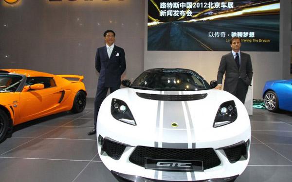 Lotus привез в Пекин новую версию Evora GTE