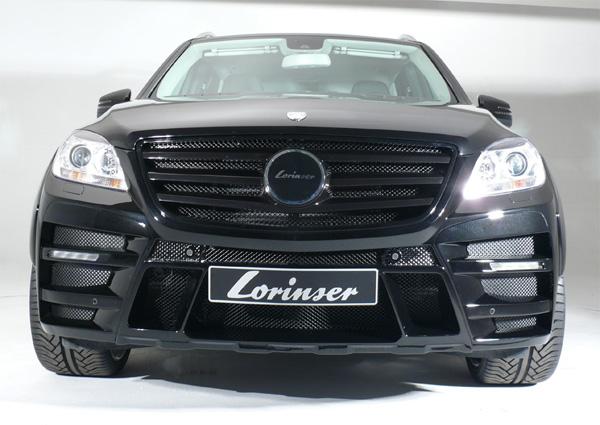 Lorinser показал доработанный Mercedes ML 2012