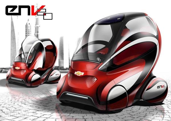 Chevrolet представил в Пекине концепт EN-V 2.0