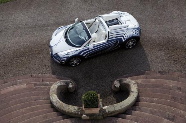 История создания Bugatti Veyron L'Or Blanc