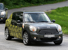 Mini Countryman Coupe (Paceman) - первые спайшоты