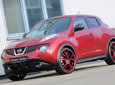 Nissan Juke 20 Tzunamee Candy Red от Senner Tuning