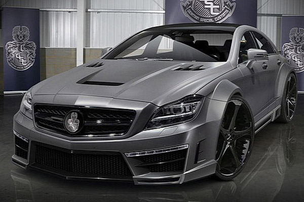 Mercedes-Benz CLS 63 AMG Stealth от GSC