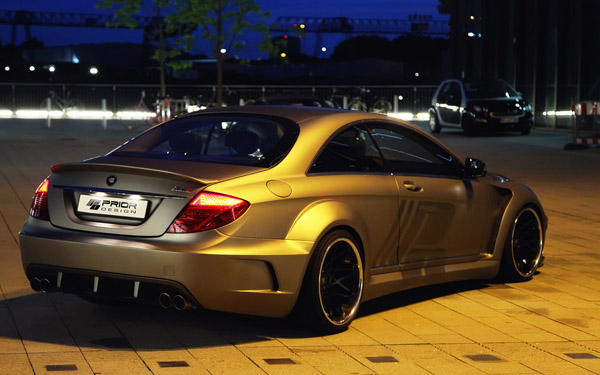 Mercedes CL-Class Black Edition V2 от Prior Design