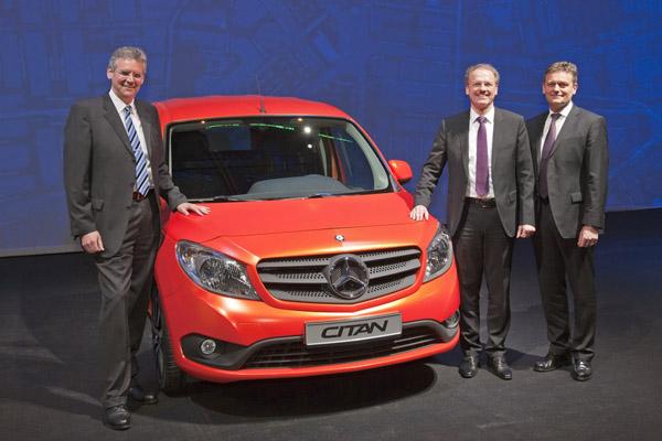 В Голландии представлен фургон Mercedes Citan