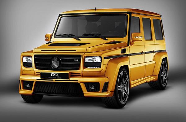 Mercedes-Benz G-Class Goldstorm от GSC