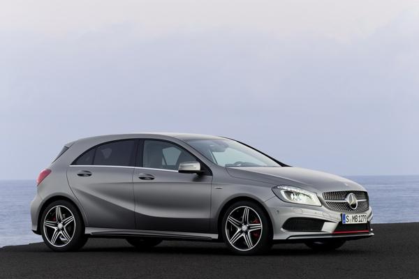 Новые данные о Mercedes-Benz A-Class
