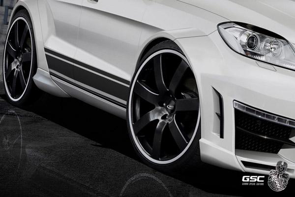 Mercedes-Benz ML Typhoon от ателье GSC