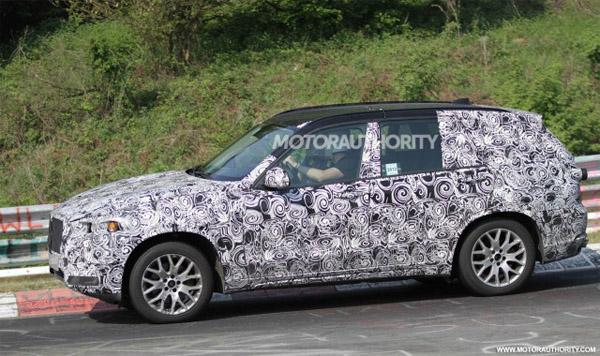 Новые шпионские фотографии BMW X5 2014