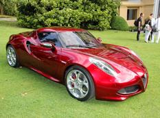 Alfa Romeo 4C - лучший концепт Concorso d'Elegance