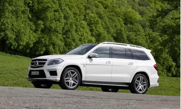 Mercedes-Benz анонсировал GL63 AMG 2013