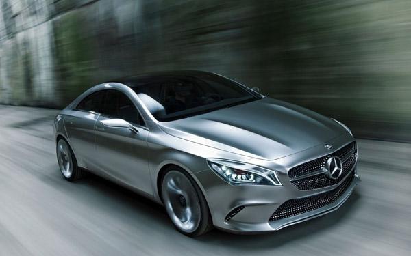 Шпионские фото Mercedes-Benz CLA-Class 2014