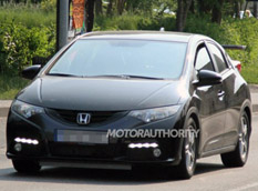 Появились шпионские фото Honda Civic Type R 2013