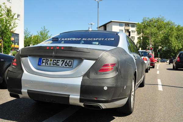 Новые шпионские фото Mercedes-Benz S-Class 2014