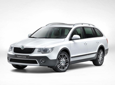 Skoda Superb Combi получила пакет Outdoor Package