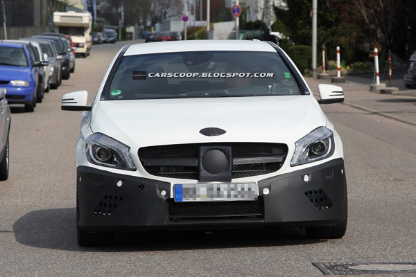Новые данные о Mercedes-Benz A45 AMG