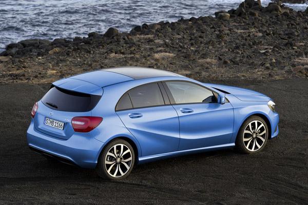 Mercedes A-Class 2013 будет стоить от 24 000 €