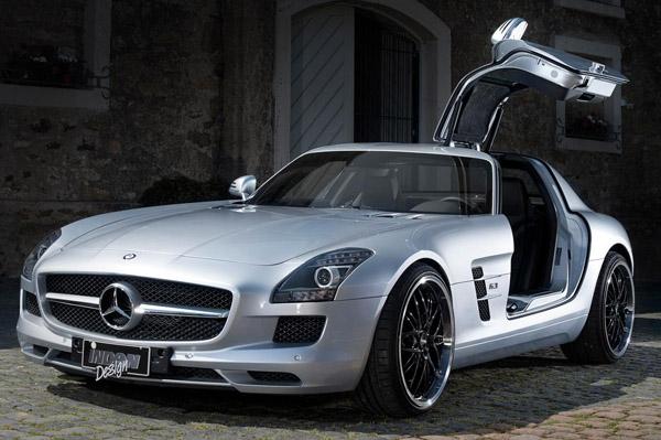 Mercedes-Benz SLS AMG от Inden Design