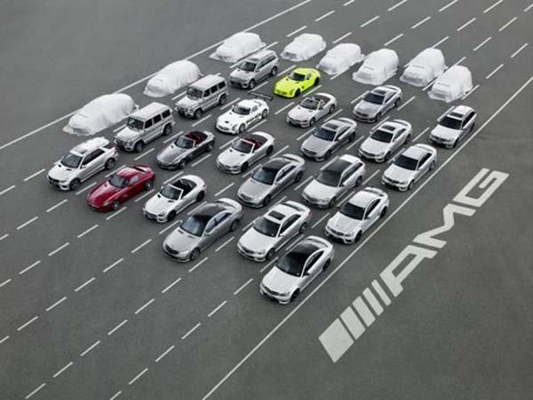 Тюнинг-ателье AMG готовит восемь новых моделей