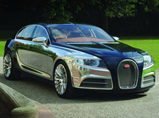 Работа над Bugatti Galibier продолжается
