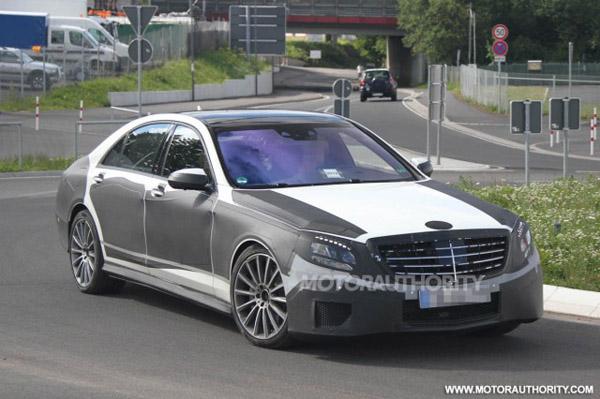 Новые фотографии Mercedes-Benz S-Class 2013