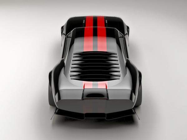 Pontiac Firebird TT Black Edition от Касима Тлибекова