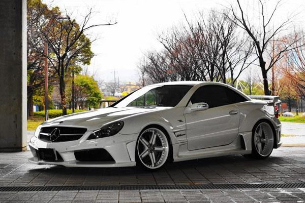 Mercedes-Benz SL55 AMG от Vitt Performance
