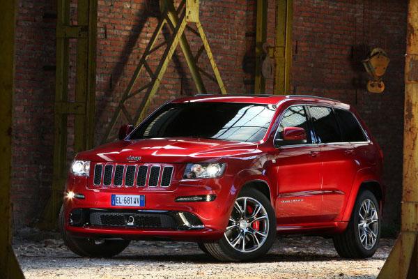 Объявлена рублевая цена Jeep Grand Cherokee SRT8