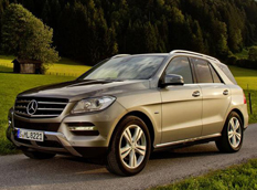 Mercedes-Benz ML 500 4MATIC BlueEFFICIENCY 2013
