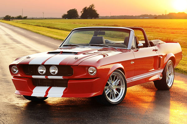 Shelby GT500CR Convertible от Classic Recreations