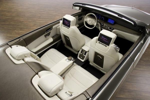 Mercedes-Benz готовит кабриолет S-Class 2013