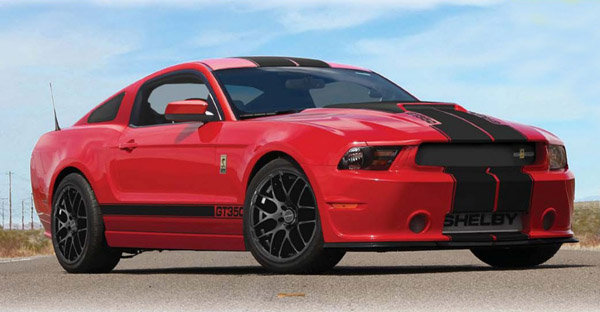 Shelby показал пакет GT350 для Ford Mustang 2013