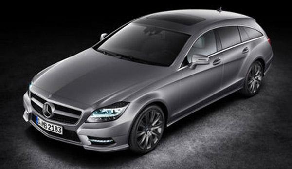 Новые данные о Mercedes-Benz CLS Shooting Brake