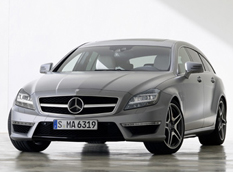 Mercedes CLS63 AMG Shooting Brake - новые данные