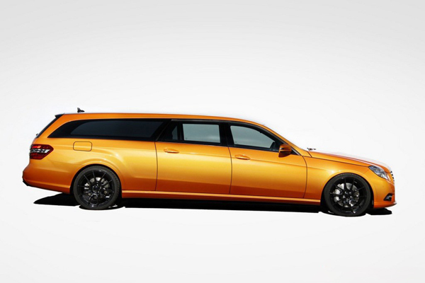 Mercedes-Benz E-Class Estate X-Orange от Binz
