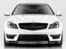 Mercedes-Benz C63 AMG Coupe в тюнинге Vorsteiner